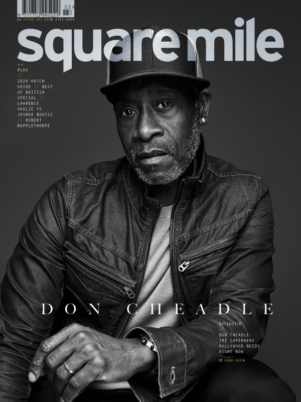 Don Cheadle photographed by Bobby Klein, Contour, Square Mile