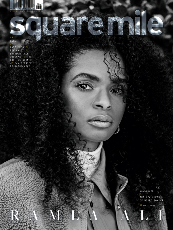 Ramla Ali photographed for Square Mile magazine by Daniel Kennedy