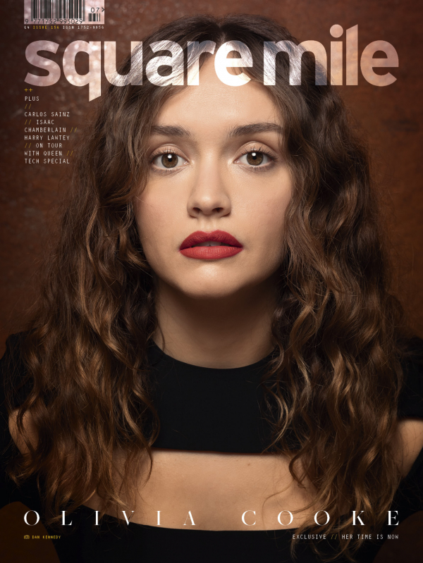 Olivia Cooke photographed for Square Mile magazine by Daniel Kennedy