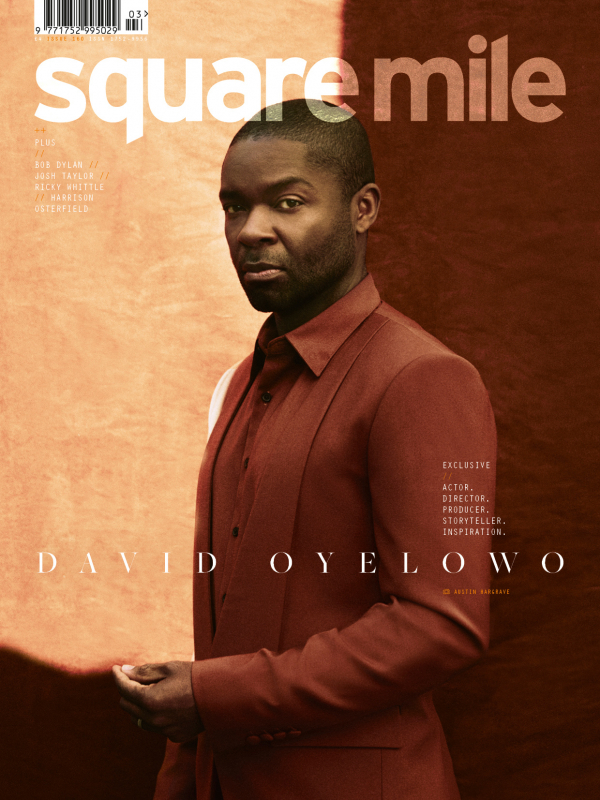 David Oyelowo photographed for Square Mile by Austin Hargrave